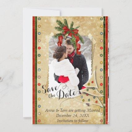 Christmas Photo Save the Date