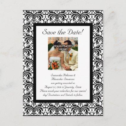 Classical Wedding Save the Date Announcement