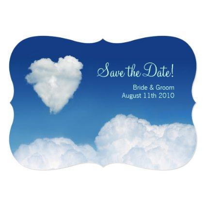 Cloud Nine - Save the Date card