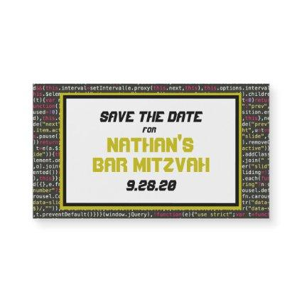Coder's Party Save the Date Magnet (small)