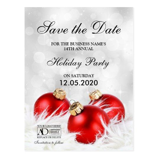 860ac23a1ee9 $1.00 Corporate Christmas Or Holiday Party Personalize. These corporate holiday  party invitation save the date cards ...