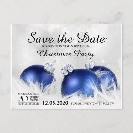 Corporate Holiday Party Save The Date Announcement