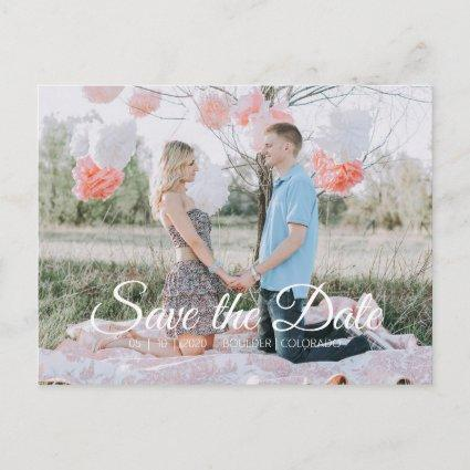 Country Chic | Save the Date Photo