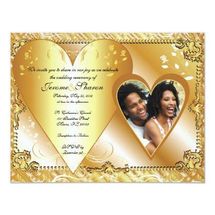 couple, WeddingInvitTemplatePhoto5, &, We invit... Invitation
