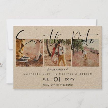 Create a Rustic Engagement Photo Save the Date