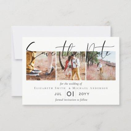 Create an Elegant Engagement Photo Save the Date