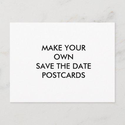 Create Your Own Custom Save the Date Cards