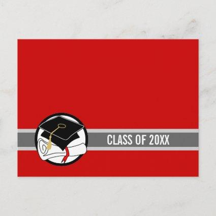 Create Your Own Graduation  Diploma Red 1
