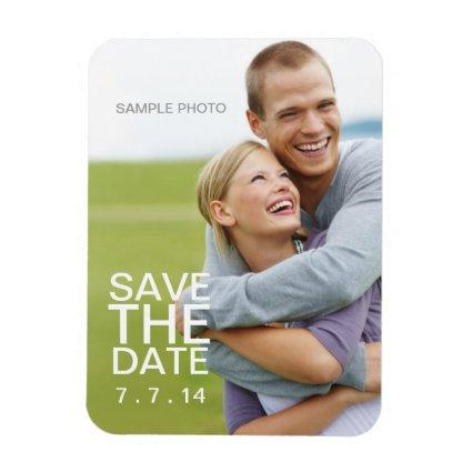 Create Your Own Photo Save the Date Magnets