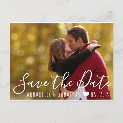 Create Your Own Save the Date Photo