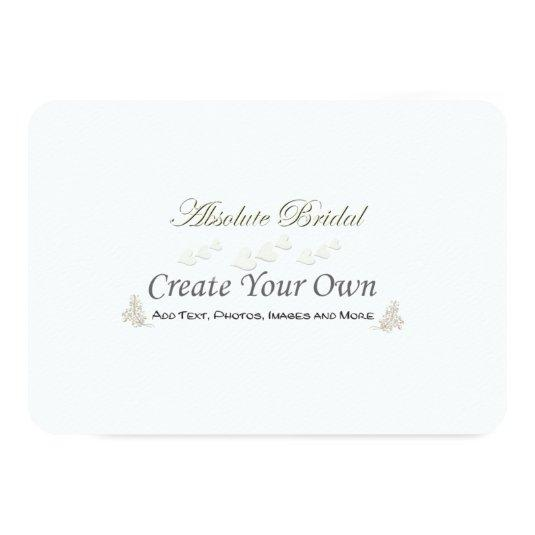 Create Your Own Save the Dates 3.5x5 Paper Invitation Card