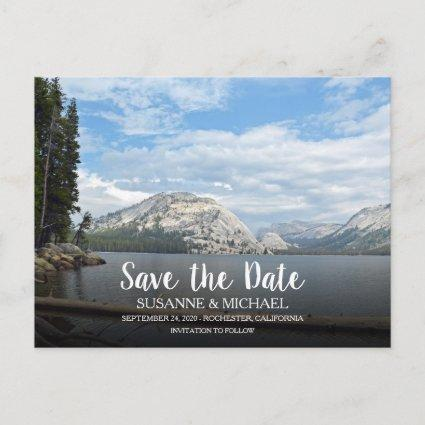 Create your own travel photo Save the Date Announcement