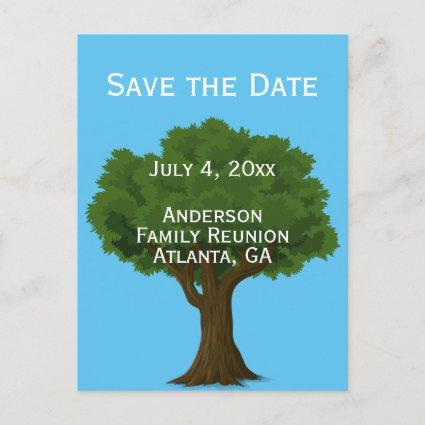Custom Family Reunion Save the Date Announcement