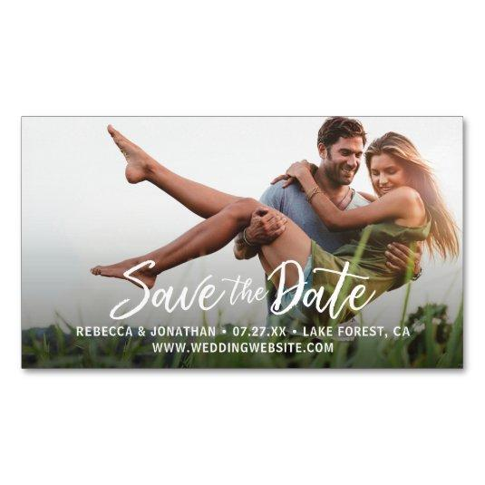 Custom Mini Affordable Save the Date Magnetss