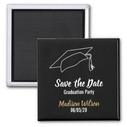 Custom Save the Date Graduation Party Magnet
