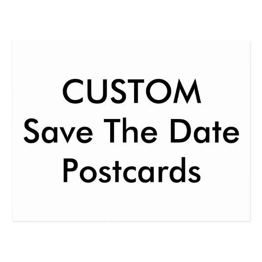 Custom Wedding Save The Date Cards