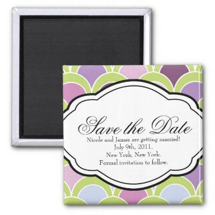 Customizable Save the Date Magnet