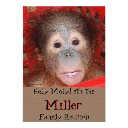 Cute Family Reunion Cards