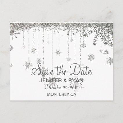 Cute winter wedding