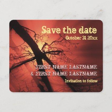 Dark Branches Save the Date
