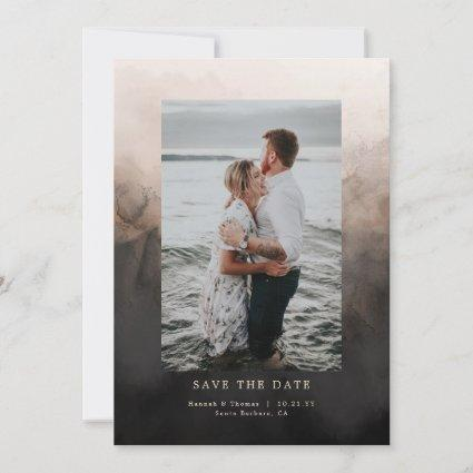 Dark Ink Wedding Save the Date