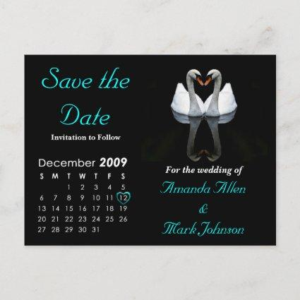 December 2009 Save the Date, Wedding Announcement