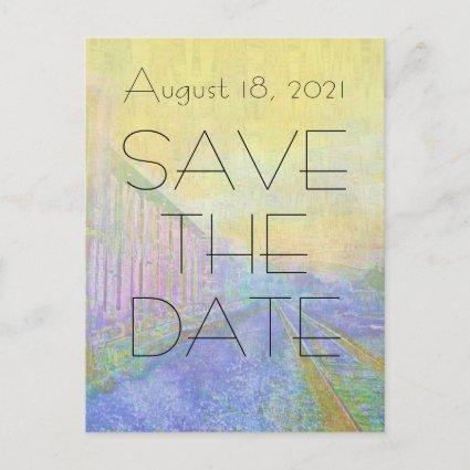 Deco Save the Date Train Car s