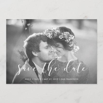 Delicate Love | Photo Save the Date