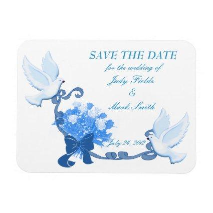 Dove Save The Date Magnets