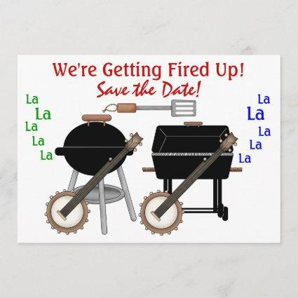 Dueling Grills ! SRF Save The Date