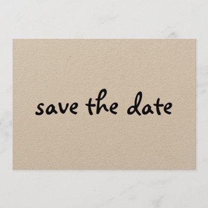 eco save the date