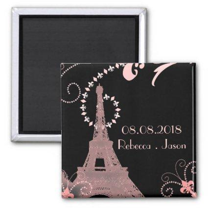 eiffel tower vintage paris  Magnets