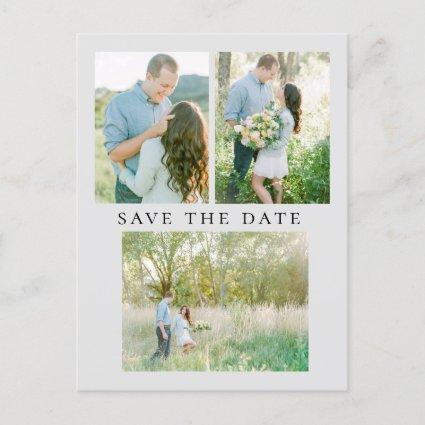 Elegant Photo Save the Date Announcement