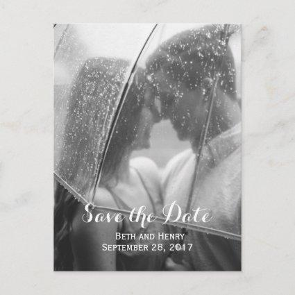 Elegant Photo Save the Date Cards