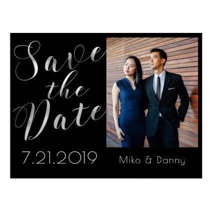 Elegant Save the Date Photo Cards