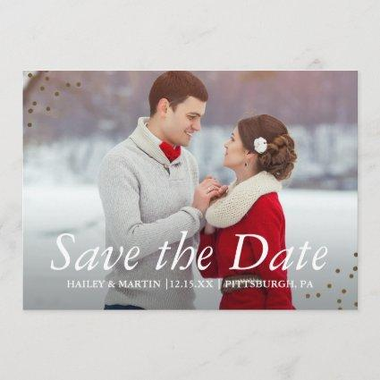 Elegant Traditions Photo Wedding Save the Date