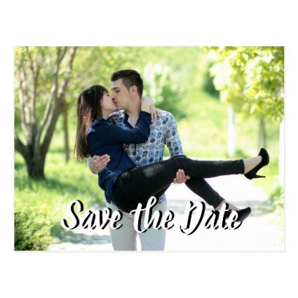 Elegant Wedding Save the Date Post Cards