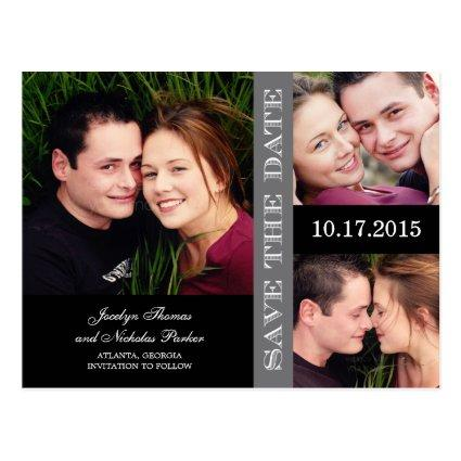 Engagement Collage  Announcements Cards