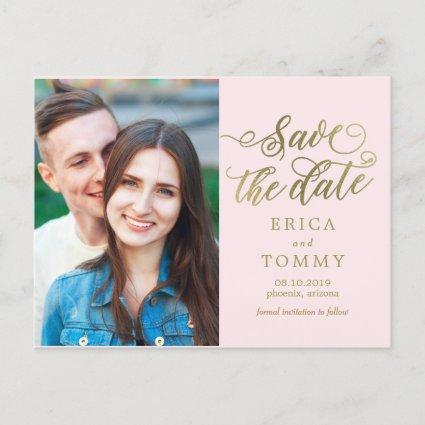 Everlasting EDITABLE COLOR Save The Date Cards