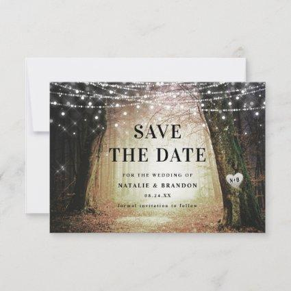 Evermore | Enchanted Fairy Forest | Amber Wedding Save The Date