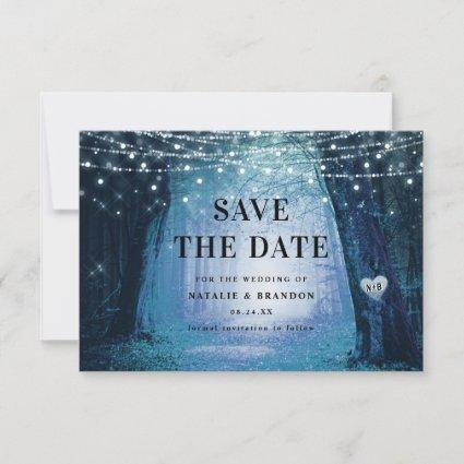 Evermore | Enchanted Fairy Forest | Blue Wedding Save The Date
