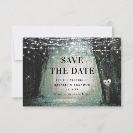 Evermore | Enchanted Fairy Forest | Moss Wedding Save The Date
