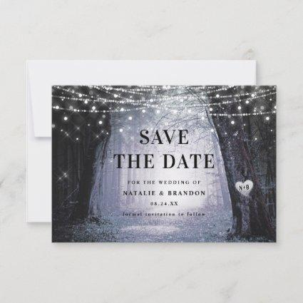 Evermore | Enchanted Fairy Forest | Purple Wedding Save The Date