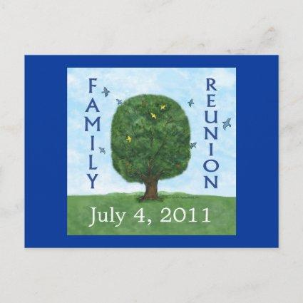 Family Reunion 2011  Invitation