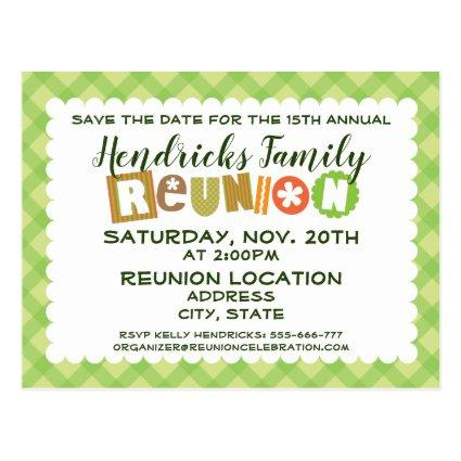 Family Reunion design