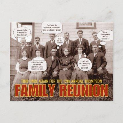 Family Reunion | Funny Old Time Photograph