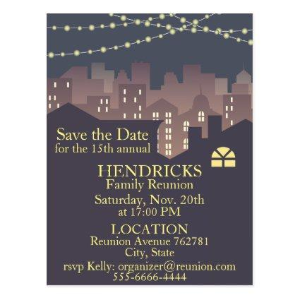 Family Reunion invitation design