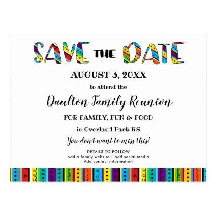 Family Reunion, Party or Event Fun