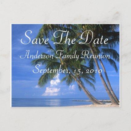 Family Reunion Save The Date Announcement