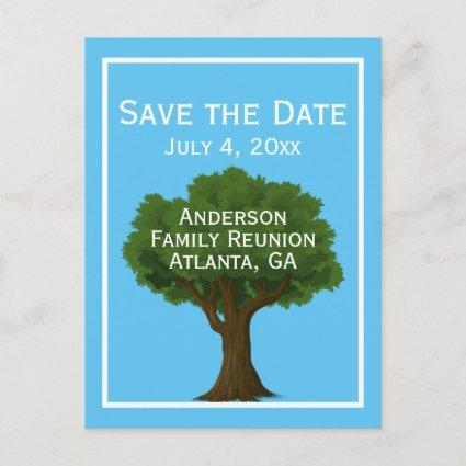 Family Tree | Family Reunion Save the Date Announcement